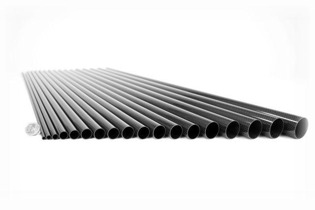 Carbon Composite - Carbon Rohre CFK Kohlefaser
